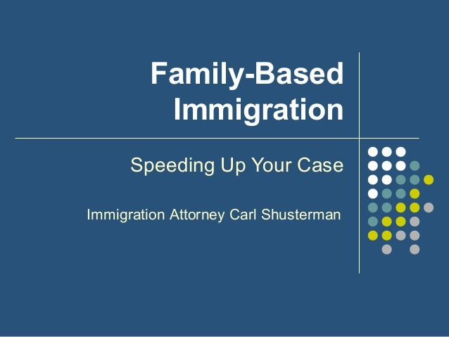 Family-Based Immigration: Speeding Up Your Case