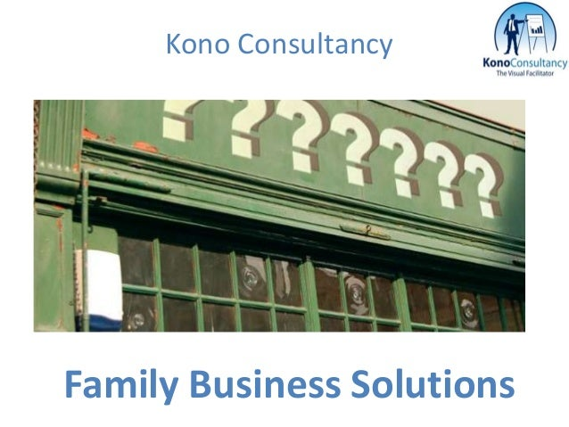 Kono ConsultancyFamily Business Solutions