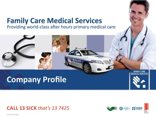 Family Care Medical Services   QA 273 1/17.08.2012