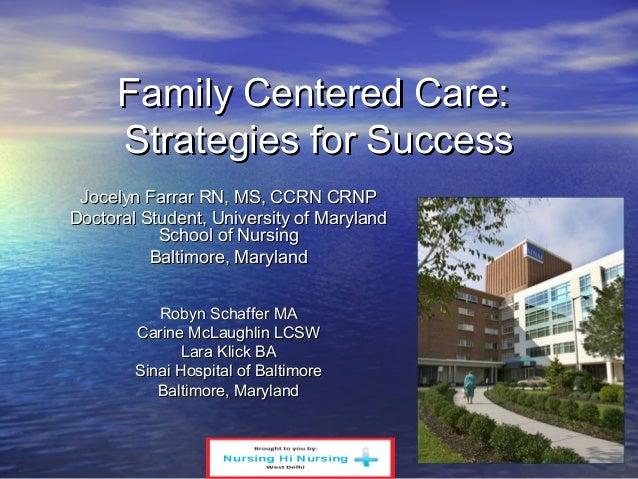 Family Centered Care
