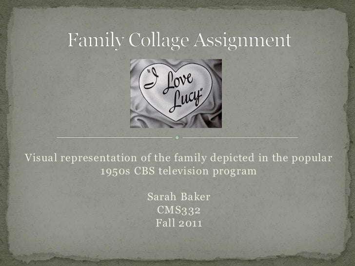 Visual representation of the family depicted in the popular              1950s CBS television program                     ...