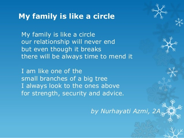 Poem Category Family Connections