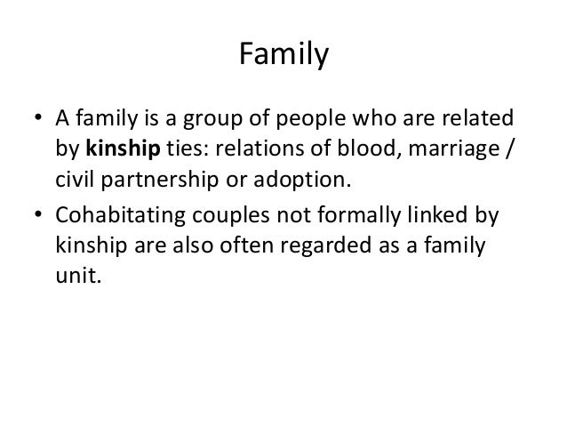 Family diversity (AS Sociology Family and Households)  Slide 2
