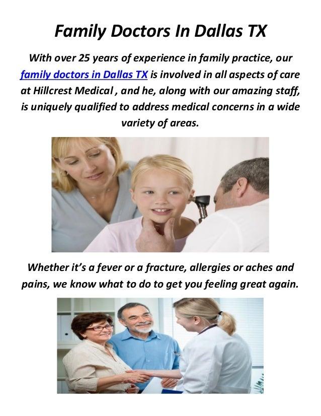HillCrest Family Doctors In Dallas, TX