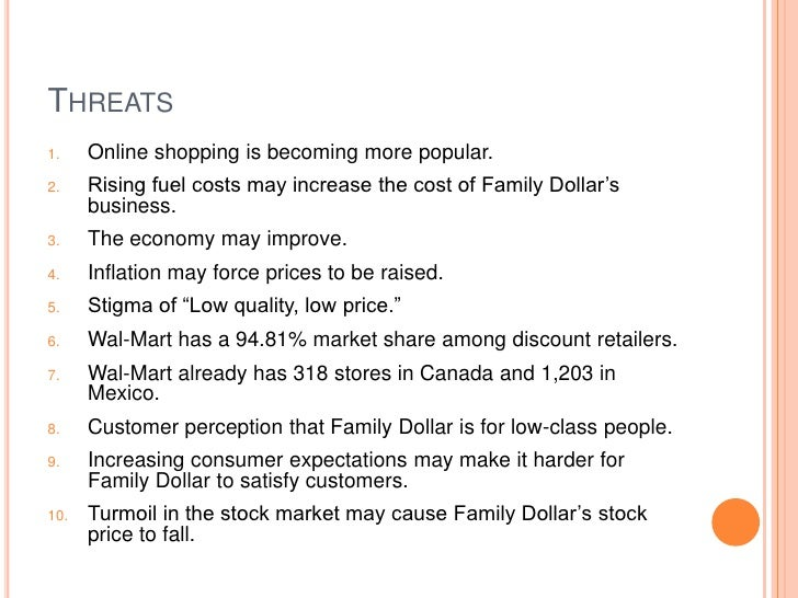 Family Dollar Three Year Strategic Plan