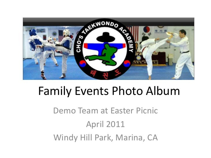 Family Events Photo Album<br />Demo Team at Easter Picnic<br />April 2011<br />Windy Hill Park, Marina, CA<br />