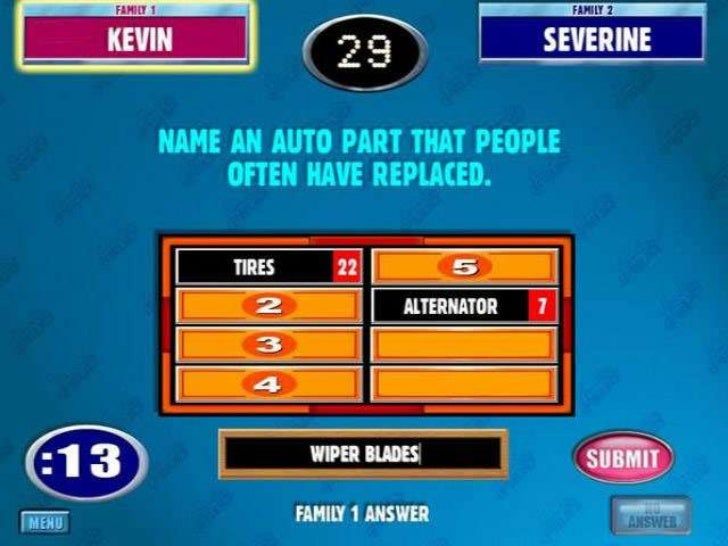 play family feud free online two players