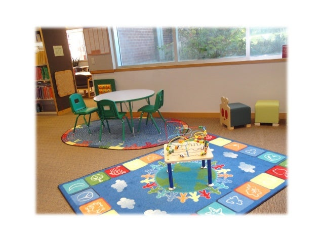 JFK Library- Curriculum Center           Family Friendly Area• Place for child to engage with books and activities  with a...
