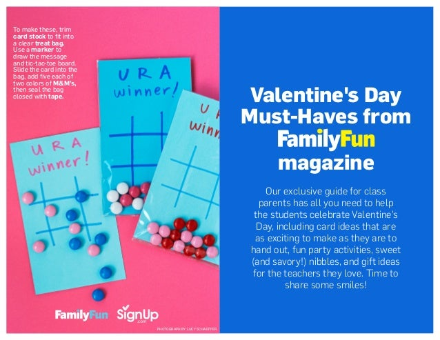 Valentine's Day Must-Haves from magazine Our exclusive guide for class parents has all you need to help the students celeb...