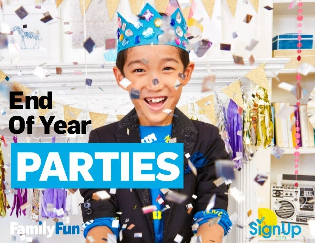End Of Year PARTIES