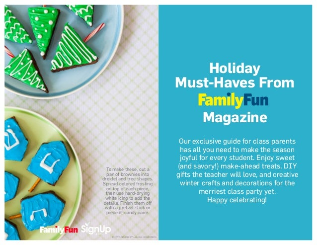 Holiday Class Party Ideas for Kids Slide 2