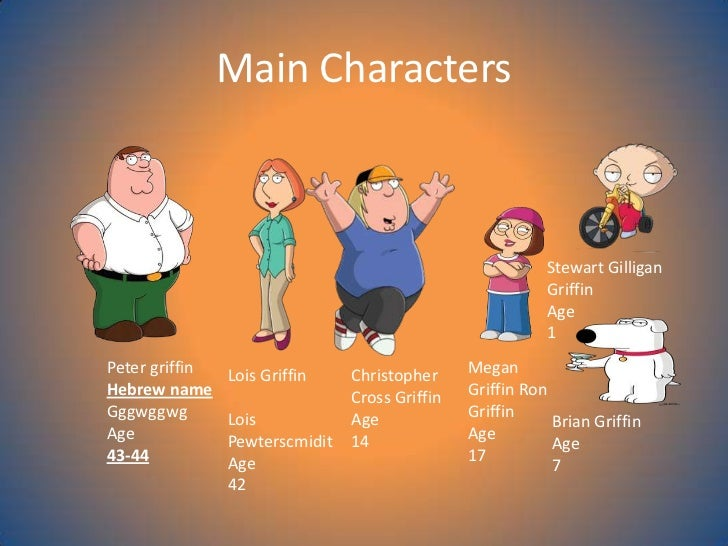 волк-лайка гриффины персонажи имена с картинками сессии зск рассмотрят