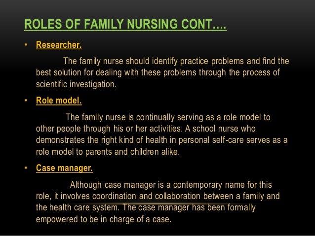 Nursing Role Implications for Family Caregiving