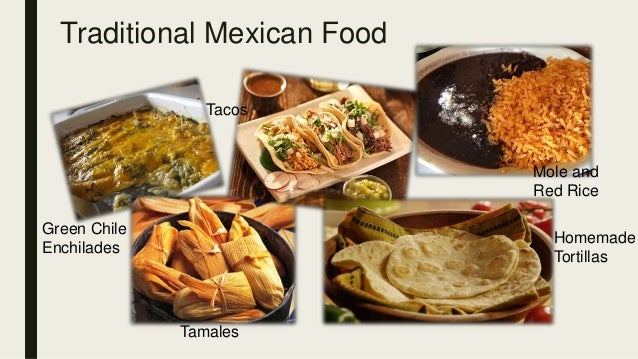 traditional mexican food history