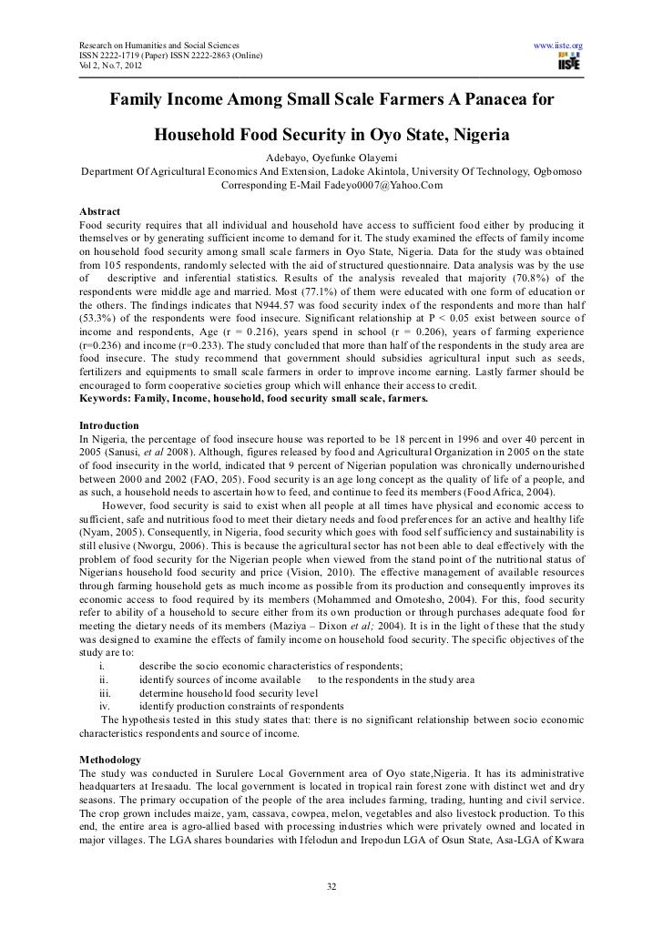Research on Humanities and Social Sciences                                                               www.iiste.orgISSN...