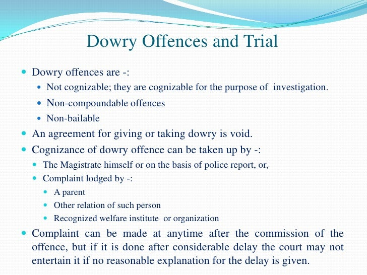 Cognizable and non cognizable offences law essay