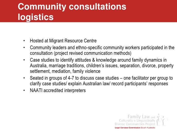 family law case studies australia