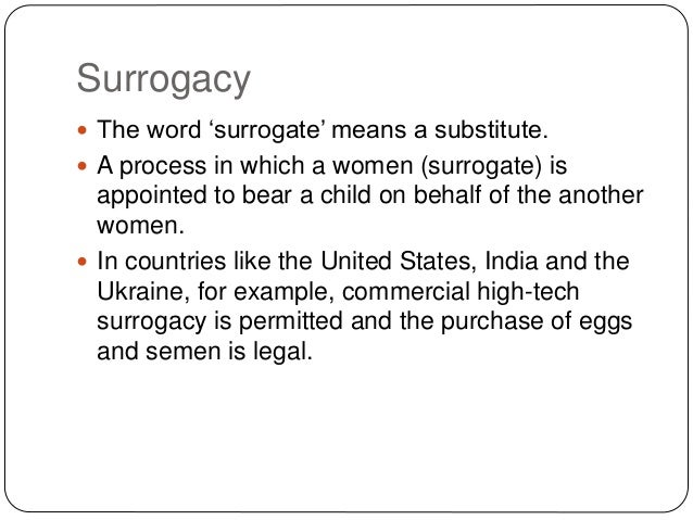 Human Trafficking Surrogacy And Adoption