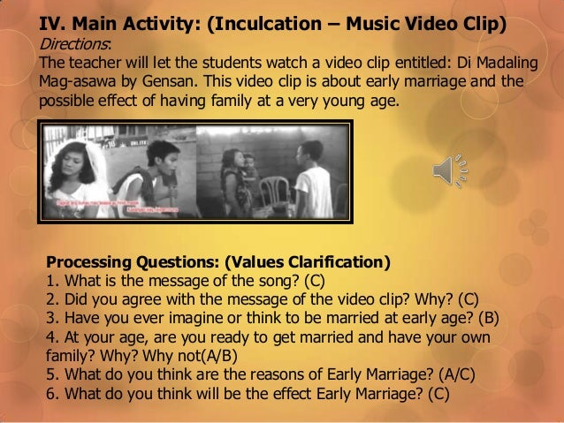 do you agree early marriage The questionnaire included 8 questions that started with general questions about the age and the marital status of the respondents then we have tackled more topic- related questions regarding the suitable age for marriage and why in the respondent's opinion it is regarded as a suitable age for marriage, the causes and effects of early marriage, whether divorce is considered as the most common effect of early marriage, and finally whether the respondents agree or disagree on early marriage.