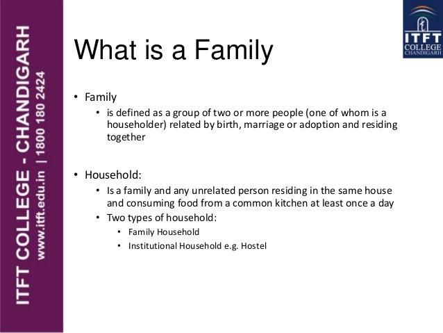 ITFT Family life cycle  Slide 2