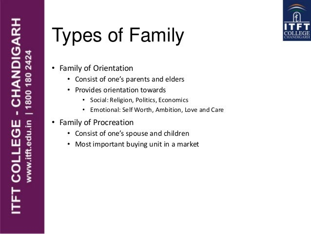 ITFT Family life cycle  Slide 3