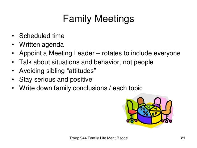 topic family and life Choose a topic each week for discussion during family meetings.