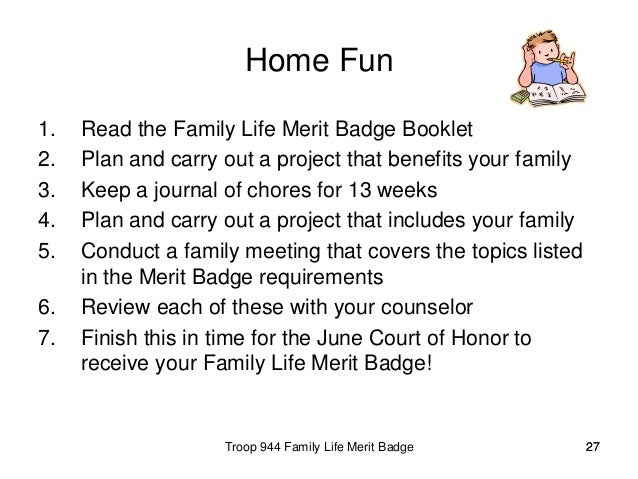 family life merit badge worksheet answers - laveyla.com