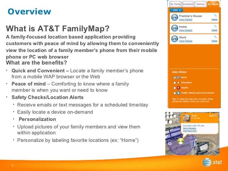Family Map - Att family map