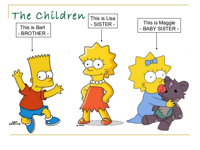 Sister Of Bart Simpson