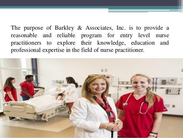 Family nurse practitioner role in society for Barkley and associates