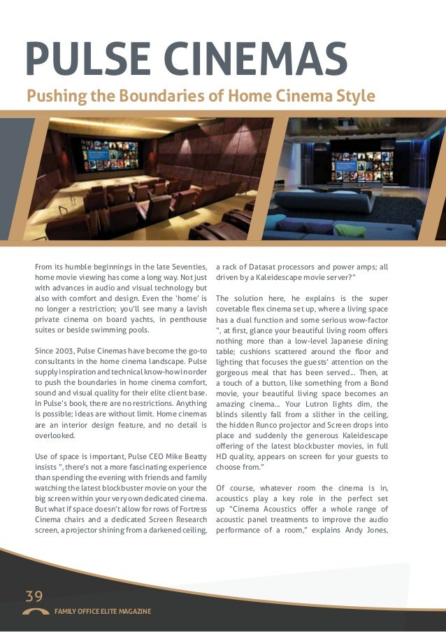 Family Office Elite Magazine Spring 16