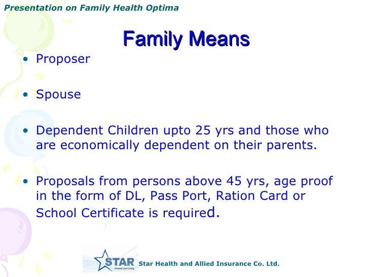 Family Optima Presentation