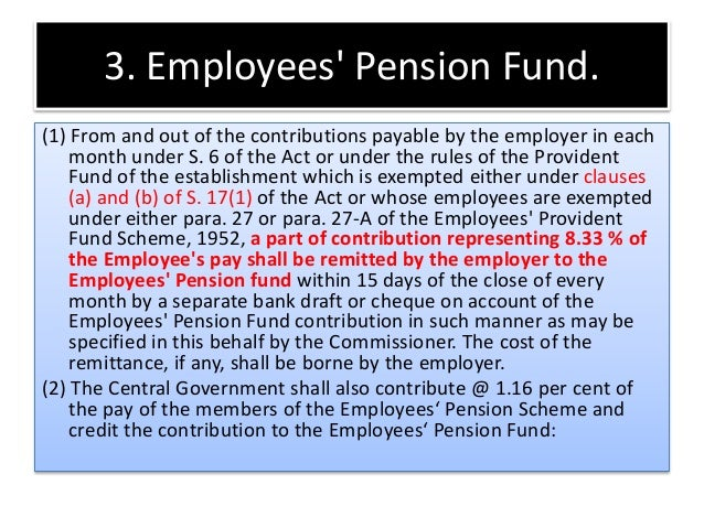 family pension fund