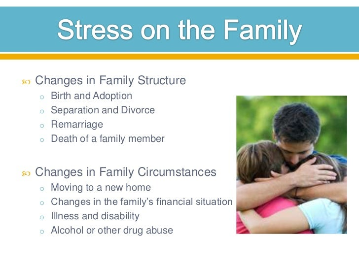 discuss changing family structures in the The traditional family structure in the united states is considered a family support system involving two married individuals providing care and stability for their biological offspring  beginning in the 1970s in the united states, the structure of the traditional nuclear american family began to change it was the women in the households.
