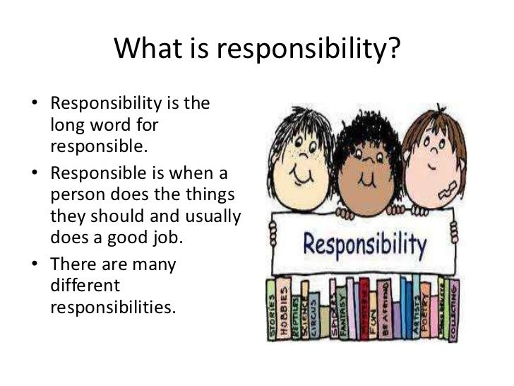Responsibility essay conclusion