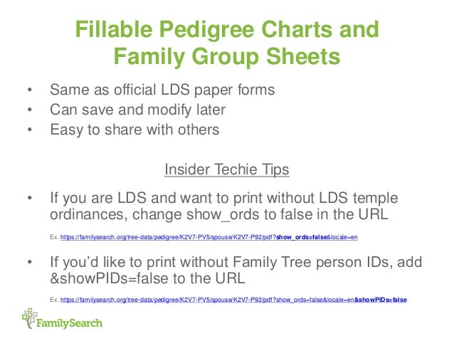 familysearch insider tips and tricks presentation