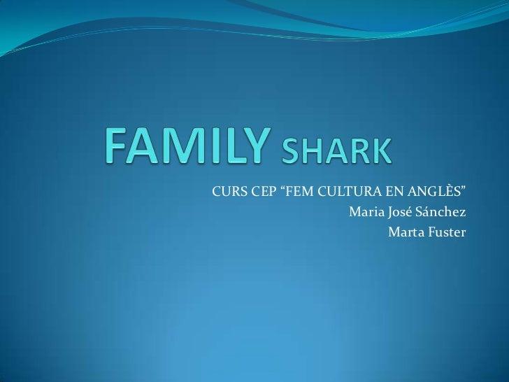 """CURS CEP """"FEM CULTURA EN ANGLÈS""""                  Maria José Sánchez                        Marta Fuster"""
