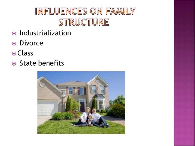  Industrialization  Divorce  Class  State benefits