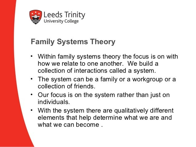Family systems theory essays