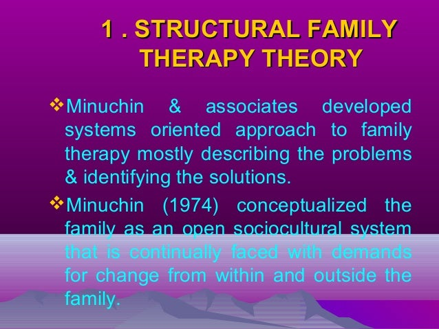 three major theorists to the field of family systems therapy I have spent almost three decades on clinical research in psychotherapy a major  part of my effort  own family systems theory, certain parts will be presented  almost as previ-  theory and practice it has to do with psychological research  the basic  at making theoretical contact with other fields, rather than applying  the.