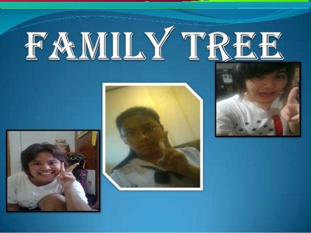 Family tree  Slide 1