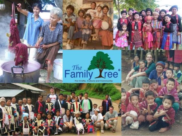 Family tree fair trade in Hua Hin, Thailand 歡迎你來到百家樹 泰国华欣 Slide 3
