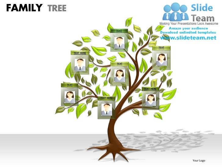 Family tree powerpoint presentation slides ppt templates family tree text toneelgroepblik Image collections