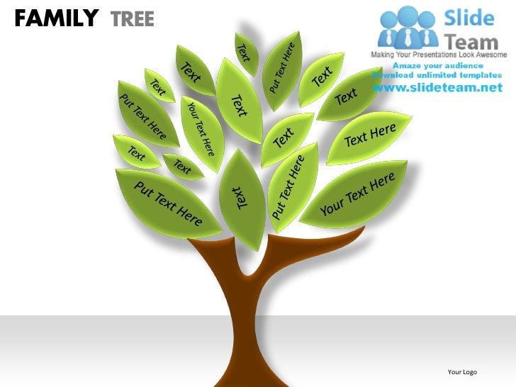 family tree powerpoint presentation slides ppt templates, Modern powerpoint