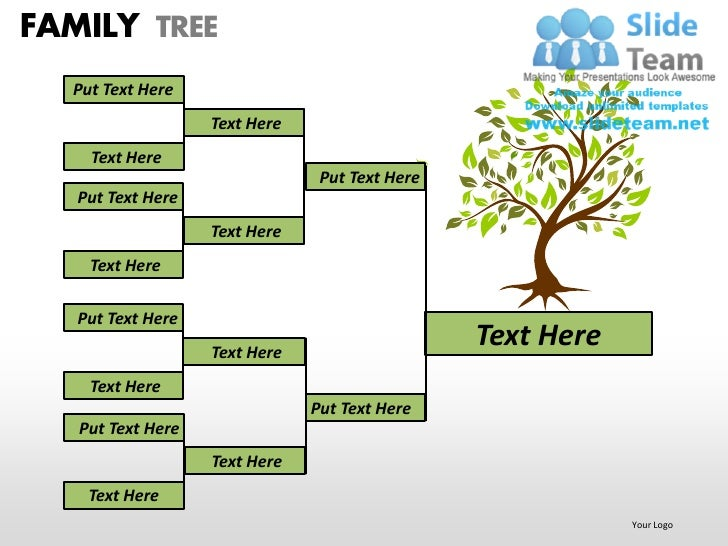 Family Tree Ppt Template Gallery Template Design Free Download