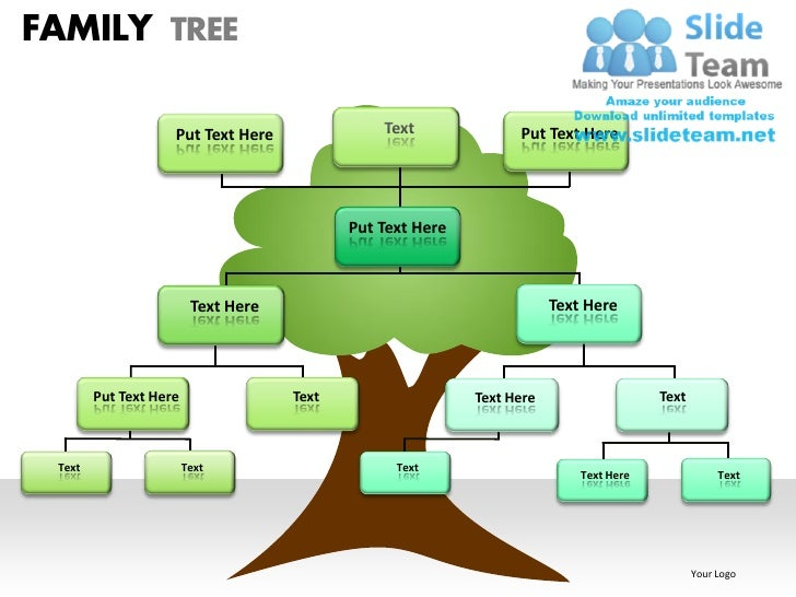 Family Tree Powerpoint Presentation Teachervision Mandegarfo