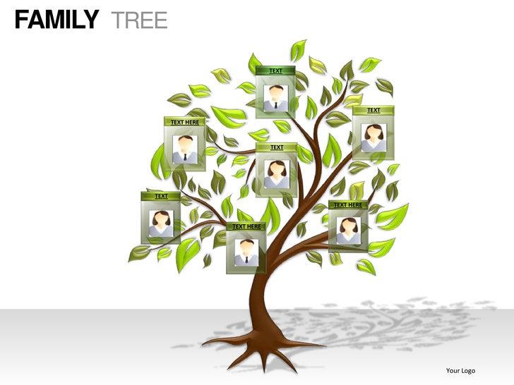 Family tree powerpoint presentation templates wuL88cvN