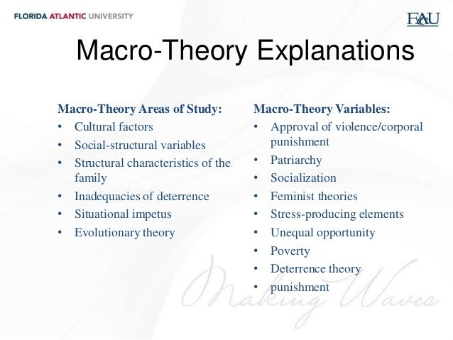 family theory This theory emerged from general systems theory by scholars who found it had many applications to families and other social systems any system is defined as a bounded set.
