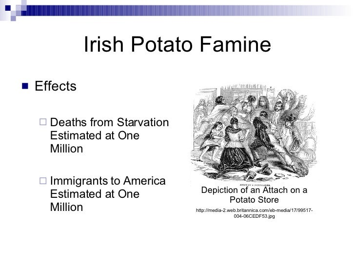 impact of potato in europe Famous potatoes : the impact of potatoes on the history of the world marika r adams  the irish potato famine drastically changed europe and america the famine.