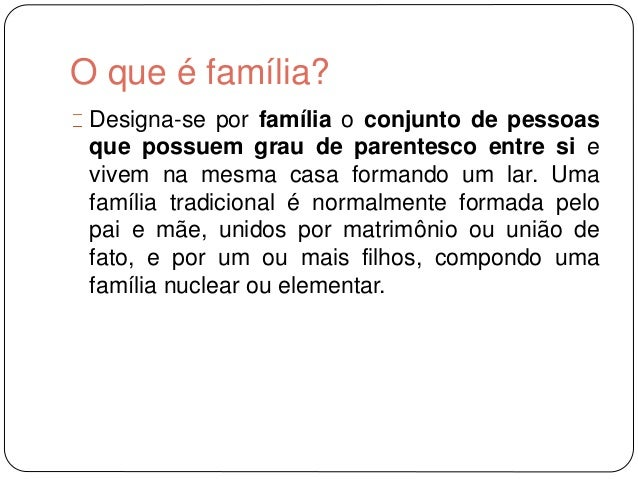 Tipos de fam lia Tipos de familia nuclear